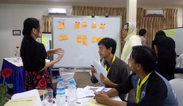 Musyawarah merupakan pijakan bagi metode action learning (photo: Chaerul Umam)